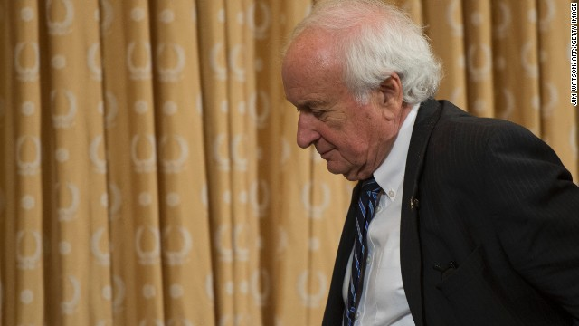 Rep. Sander Levin, D-Michigan, is the top Democrat on the House Ways and Means Committee.