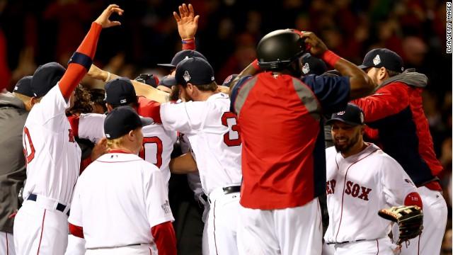 Boston gana la Serie Mundial de béisbol