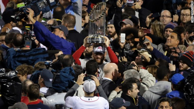Photos: Boston celebrates World Series win