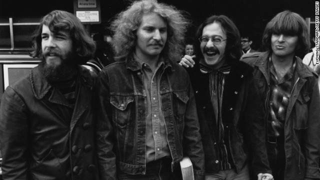 When this photo was taken of iconic rock group Creedence Clearwater Revival -- consisting of (from left) Doug Clifford, Tom Fogerty, Stu Cook and John Fogerty -- in April 1970, the band was at its peak. But by 1971, Tom would leave his brother John, reportedly over issues of creative control, and CCR disbanded in 1972.