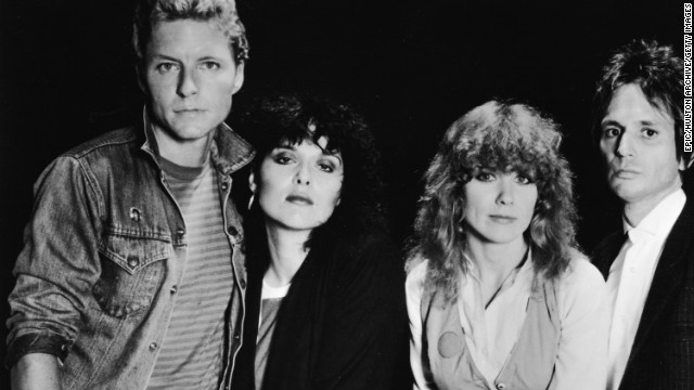 The band Heart has seen its fair share of lineup changes, but at its core are pioneering sisters Ann and Nancy Wilson. (This photo, taken circa the 1980s, shows Ann and Nancy, center, with Mark Andes, left, Denny Carmassi and Howard Leese.) The sisters were there as Heart gained Canadian and then American success in the '70s, and held on through periods of unpopularity only to continuously emerge as rock stars once again. In 2013, Heart was inducted into the Rock and Roll Hall of Fame.