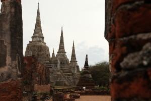 Templo Phra Si Sanphet, Ayutthaya, Tailandia
