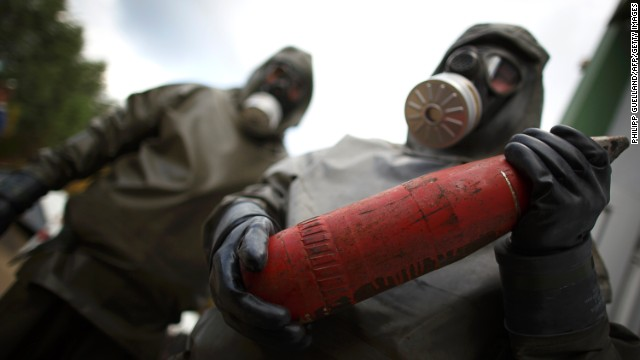 Time ripe to rid Middle East of chemical weapons