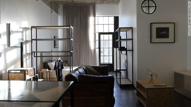 "Maboneng also offers chic housing. The ground floor of ""Revolution House"" apartments includes an art and fashion store and an event space."