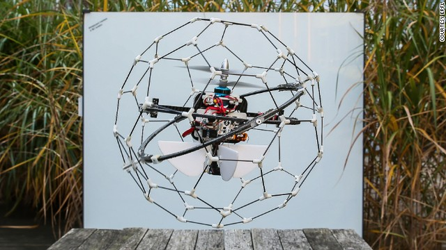 It's GimBall, a flying robot that could change the face of search-and-rescue missions.