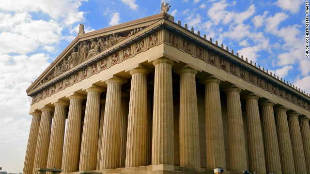 The city also boasts a replica of Greece's Parthenon at Centennial Park.