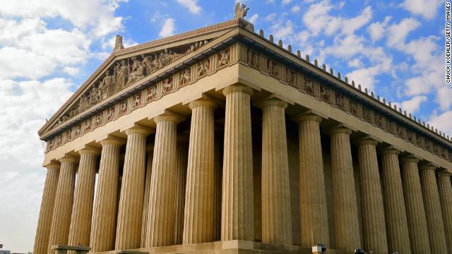 The city also boasts a replica of Greece's Parthenon at Centennial Park.