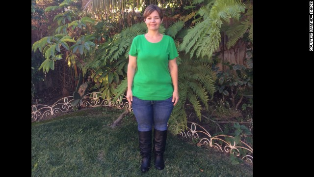 Amy has maintained her weight at 160 pounds for more than three years. She stays active and eats several small, healthy meals throughout the day.