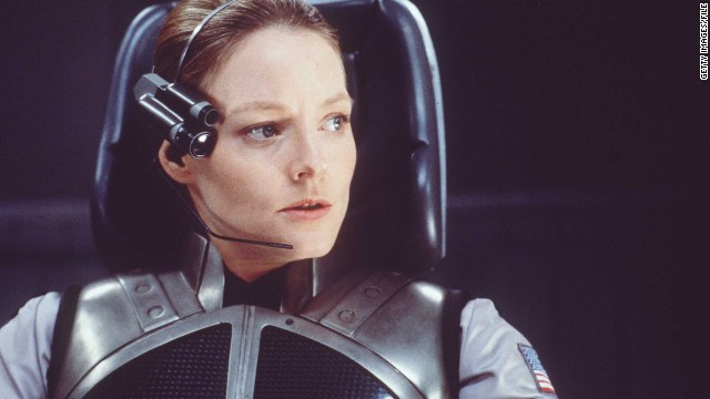 "She's not the first female scientist on the big screen. Here, Jodie Foster plays astrophysicist Ellie Arroway in 1997 film ""Contact"" -- based on the novel by Carl Sagan."