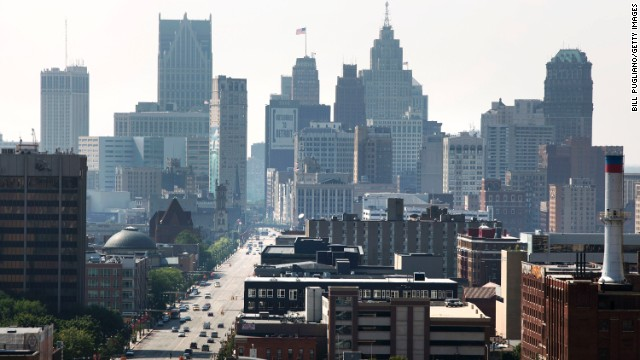 Detroit was home to 2 million residents at its peak, but now the city is down to roughly 700,000. That's still 700,000 people living their lives in this city.