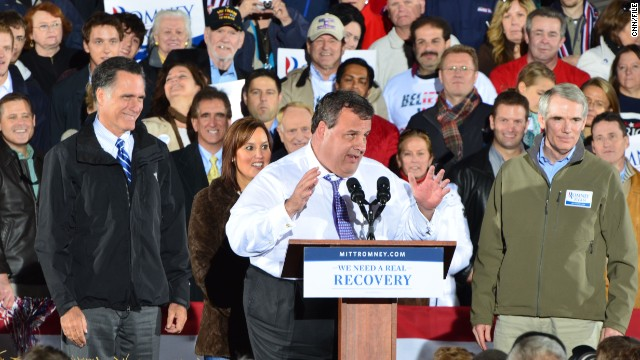 First on CNN: Christie: Romney 'embarrassed' about VP vetting leak