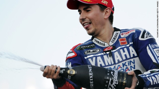 Lorenzo continued his winning run at the Japanese Grand Prix on October 27, meaning his title defense would go down to the wire.
