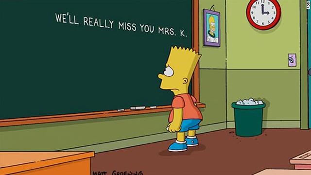 'Los Simpson' rinde homenaje a Marcia Wallace