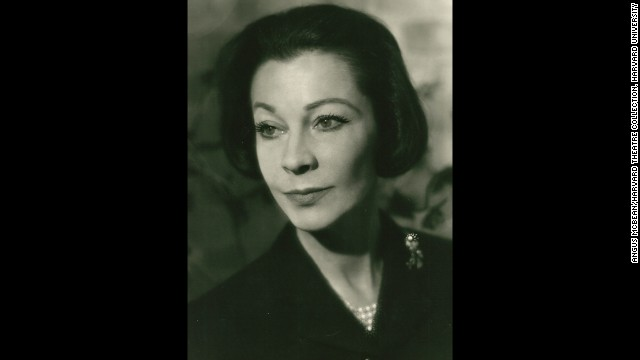 "McBean's last portrait of Leigh was taken in 1965, two years before her death at 53. McBean's handwritten inscription is found on the back of the print.<!-- --> </br> <i>Image courtesy of ""Vivien Leigh: An Intimate Portrait"" (Running Press)</i>"