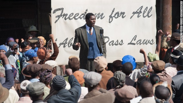 British actor Idris Elba plays Nelson Mandela in the long-awaited movie adaptation of the anti-apartheid icon's autobiography.