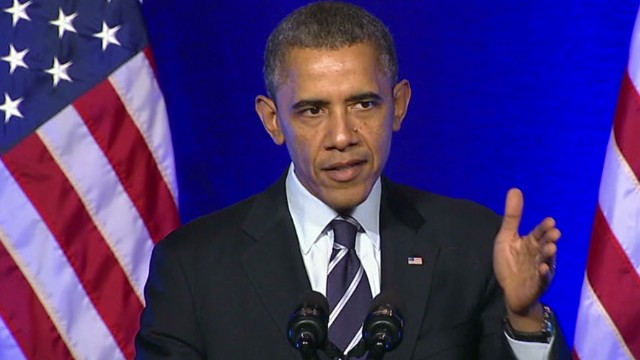 Obama's energized weekly address