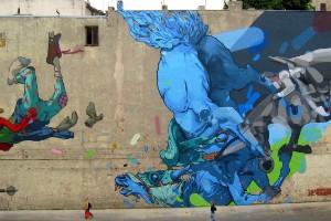 El gigantesco arte callejero en Polonia