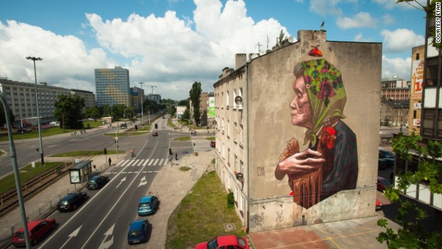Bigger than Banksy: Polish street art goes large