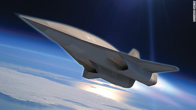 "Lockheed engineers are <a href='http://www.cnn.com/2013/11/05/tech/innovation/new-spy-plane/index.html'>developing a hypersonic aircraft</a> that will go twice the speed of the SR-71 Blackbird, which goes three times the speed of sound. That aircraft, seen in this photo illustration, is called the SR-72 or ""Son of Blackbird."" Take a look through the gallery to see other stealth and spy planes."