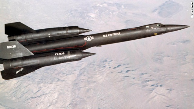 The Lockheed YF-12 flies a test mission near Edwards Air Force Base in California.