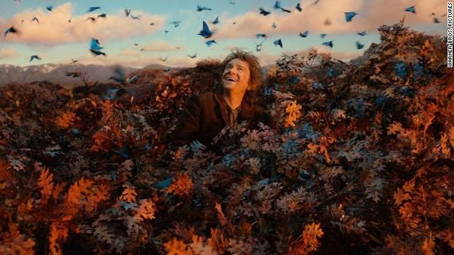 """The Hobbit: The Desolation of Smaug"" starring Martin Freeman."