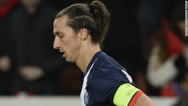 Zlatan Ibrahimovic scored PSG's equalizer in the home match against Anderlecht as they stayed top of their group in the Champions League.