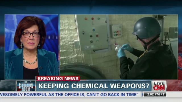 Estados Unidos se ofrece a destruir algunas de las armas químicas sirias