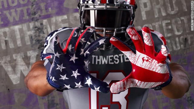 Northwestern uniform controversy