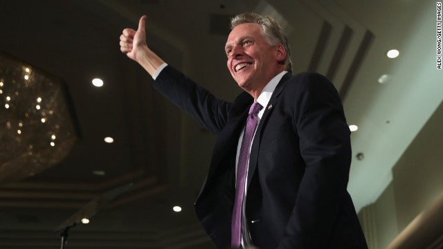 Ex-Gov. McDonnell plays prank on new Gov. McAuliffe