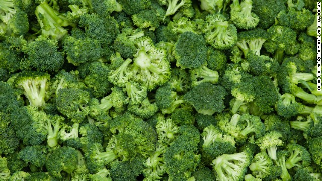 <strong>Broccoli</strong><!-- --> </br>Water content: 90.7%<!-- --> </br><!-- --> </br>Like its cousin cauliflower, raw broccoli adds a satisfying crunch to a salad. But its nutritional profile — lots of fiber, potassium, vitamin A, and vitamin C — is slightly more impressive. What's more, broccoli is the only cruciferous vegetable (a category that contains cabbage and kale, in addition to cauliflower) with a significant amount of sulforaphane, a potent compound that boosts the body's protective enzymes and flushes out cancer-causing chemicals.<!-- --> </br> <!-- --> </br>