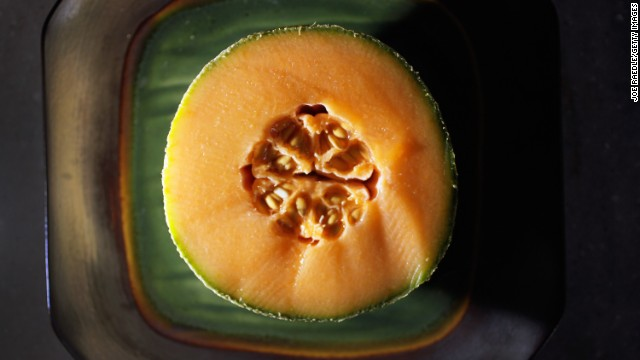 "<strong>Cantaloupe</strong><!-- --> </br>Water content: 90.2%<!-- --> </br><!-- --> </br>This succulent melon provides a big nutritional payoff for very few calories. One six-ounce serving — about one-quarter of a melon — contains just 50 calories but delivers a full 100% of your recommended daily intake of vitamins A and <!-- --> </br>.<!-- --> </br> ""I love cantaloupe as a dessert,"" Gans says. ""If you've got a sweet tooth, it will definitely satisfy."" Tired of plain old raw fruit? Blend cantaloupe with yogurt and freeze it into sherbet, or puree it with orange juice and mint to make a refreshing soup."