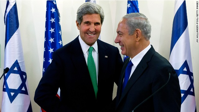 U.S. Secretary of State John Kerry is expected to travel to Jerusalem and Ramallah on New Year's Day.