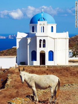 Folegandros in the Cyclades has the whitewashed beauty of Santorini but not the crowds.