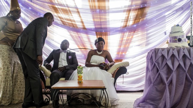 <i>Nigerian Wedding (2012-2013)</i>, by American documentary photographer Glenna Gordon.