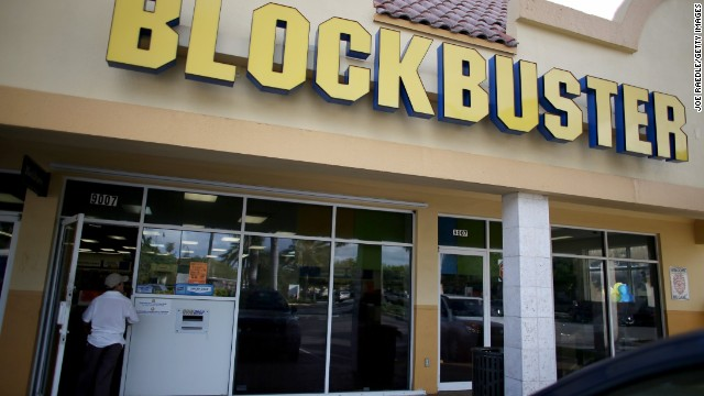The last Blockbuster rental was so appropriate