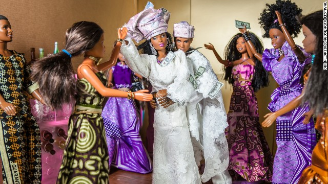 <i>The Black Barbie Traditional Wedding (2012)</i>, by Obi Nwokedi, a Nigerian portrait and wedding photographer based in London