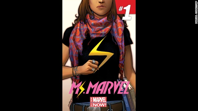 Before Thor, Marvel introduced a<a href='http://www.cnn.com/2013/11/06/showbiz/ms-marvel-muslim-superhero/'> Muslim-American teen</a> superhero: Kamala Khan, a fictional New Jersey teenager who transforms into Ms. Marvel.