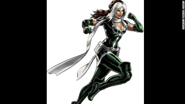 Anna Marie, Rogue. First appearance in 1981. Marvel Universe.
