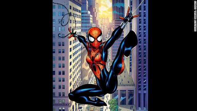 May Parker, Spider-Girl. First appearance in 1998. Marvel Universe.