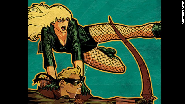 Dinah Lance, Black Canary. First appearance in 1969. DC Universe.