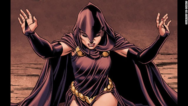 Rachel Roth, Raven. First appearance in 1980. DC Universe.