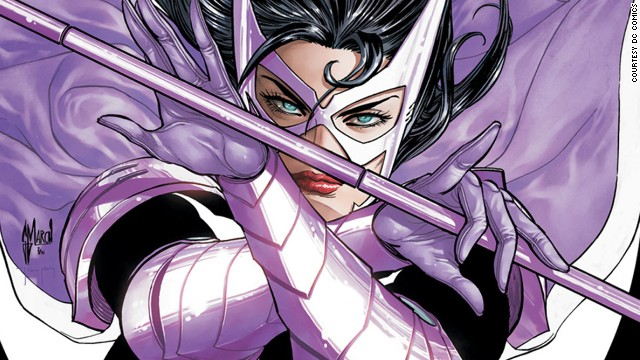 Helena Bertinelli, Huntress. First appearance in 1989. DC Universe.