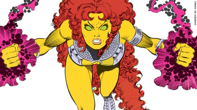 Princess Koriand'r of Tamaran, Starfire. First appearance in 1980. DC Universe.