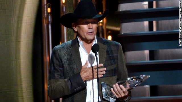 <strong>Entertainer of the year: </strong>George Strait