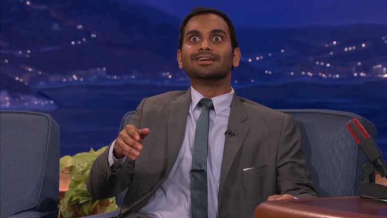 aziz ansari on dating conan channel