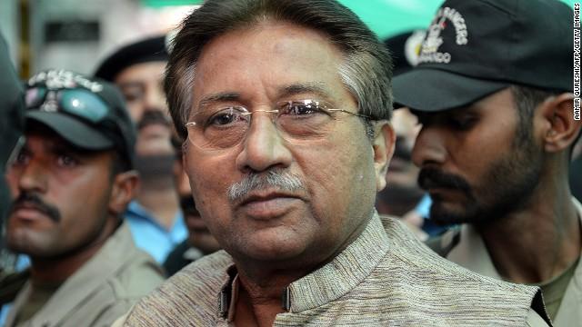 Acusan al ex presidente de Pakistán, Musharraf, de traición