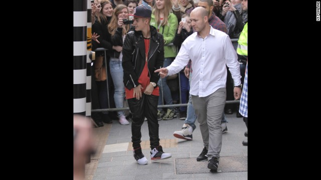"In April 2013, Bieber visited the Anne Frank House in Amsterdam -- <a href='http://www.cnn.com/2013/04/14/showbiz/bieber-anne-frank/index.html?iref=allsearch'>and was promptly criticized for saying</a> that he hoped the teen, who died in a Nazi concentration camp in 1945, would have been a ""Belieber."" Visitors to the Anne Frank Facebook page had plenty to say. ""Glad he went, but, the last sentence is VERY self serving. he missed the lessons of Anne totally,"" wrote one observer."