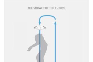 La ducha futurista que ahorra dinero