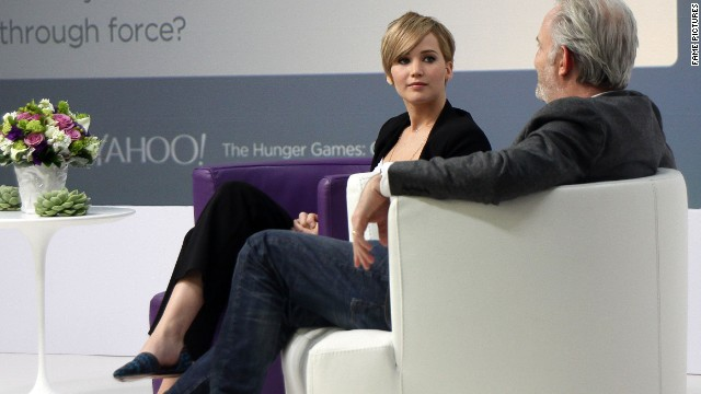 Jennifer Lawrence: Deaf and drinking on 'Catching Fire' set