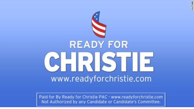 Group forms to back Christie in 2016